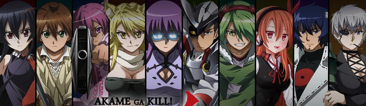 Персонажи из аниме убийца акаме имена